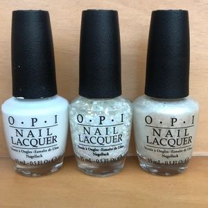 3 OPI lacquers